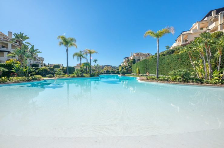 2 bedroom apartment in Capanes del Golf. Benahavis