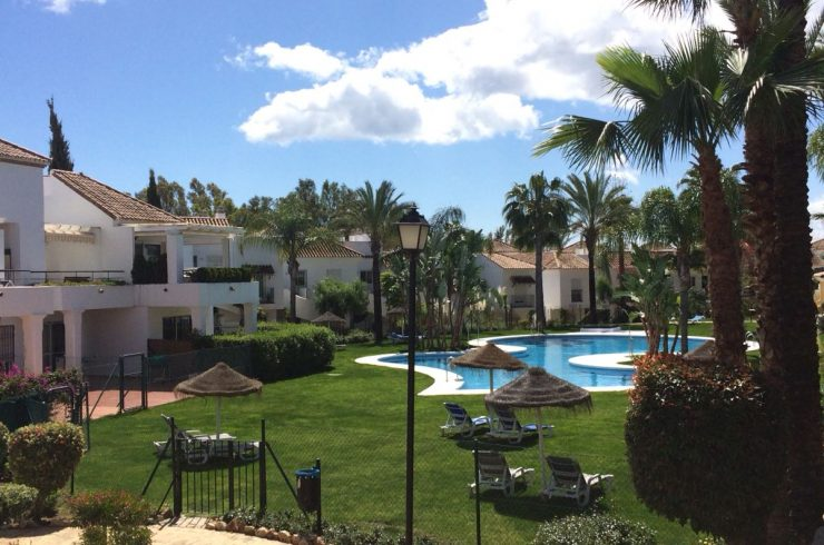 Beautiful ground floor apartment in the heart of Nueva Andalucia