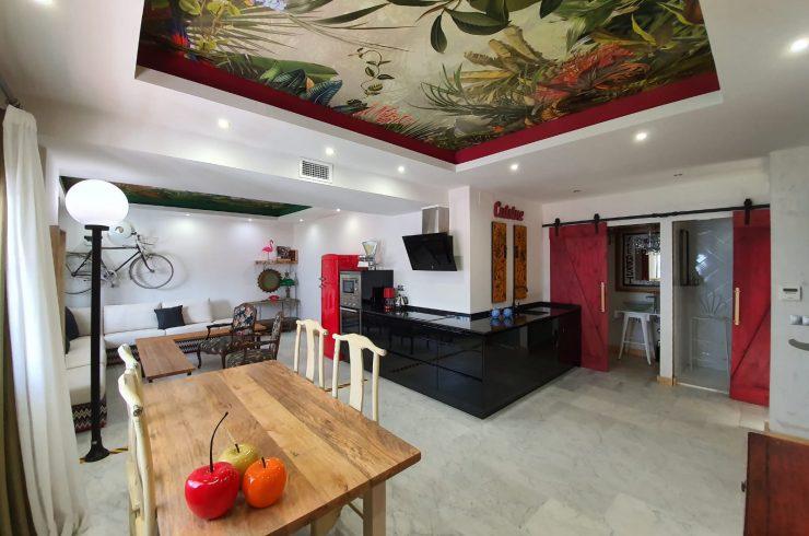 Precioso loft con una habitación en Puerto Banús