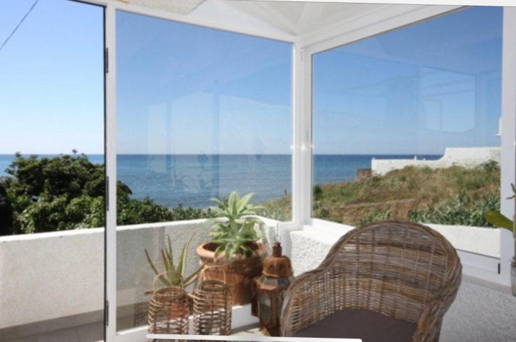 Casa de verano en la playa