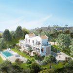 Villa de estilo contemporáneo – andaluz con impresionantes vistas en Urb. Montemayor